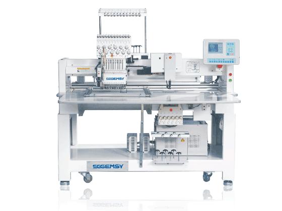 SG1201CM-J-4050 帽绣、毛巾绣、平绣、成衣绣、混合功能电脑绣花机
